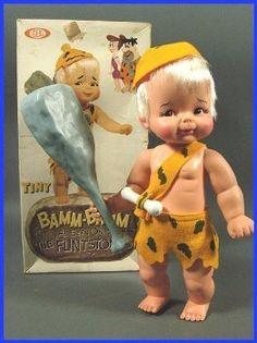 Bamm Bamm Rubble doll