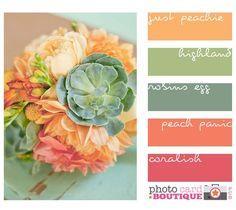pretty, vintage palette