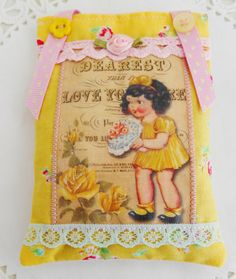 Mother's Day Retro Inspired Lavender sachetHome by picocrafts, $10.00
