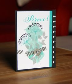 Congratulations card by Stampin Up UK Demonstrator Zoe Tant. Summer silhouette and Bravo stamp sets.