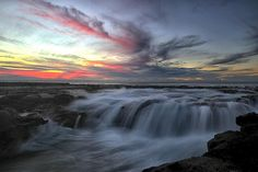 One Morning Newcastle Nsw, Niagara Falls, Baths, Waterfall, Ocean, Nature, Travel, Outdoor, Outdoors