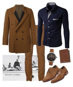 """""""Polo Player"""" by parnett ❤ liked on Polyvore featuring Ralph Lauren, Urban Pipeline, Yohji Yamamoto, Original Penguin, Bell & Ross, men's fashion and menswear"""