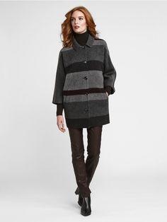 #WbyWorth #StyleGetsSocial #Winter2015 #WinterCoat #Wool #Stripe