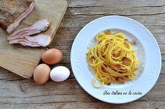 Espaguetis a la carbonara, la autentica receta italiana Spaghetti, Breakfast, Ethnic Recipes, Food, Italian Recipes, Dupes, Food Recipes, Meal, Eten