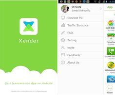 Xender – Um estilo de AirDrop do iOS mas para Android