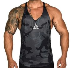 c114793a57ce ZOGAA Mens Fitness Vest Tank Top Camouflage Men/'S Workout Body Sportwear  Vest Fast