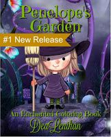 DEA LENIHAN'S BLOG: A Cute Halloween Coloring Book Witch for Kids and ...