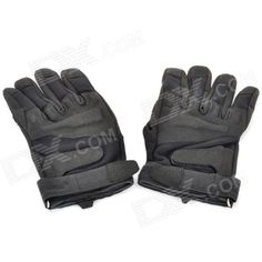 Airsoft Blackhawk Tactical Outdoor Full Finger Gloves - Black (Pair/Size-XL)  Price: $14.60