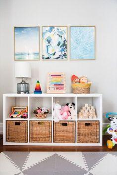 110 Ideias Incríveis de Prateleira para Quarto Infantil