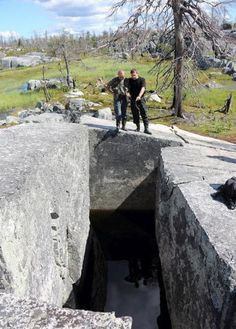 The most famous megaliths of Russia (50 photos) So all the same nature or man-made? Let's look closer.