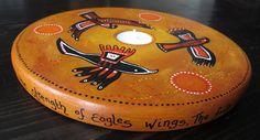 Eagle tealight holdereagle candle by heARTofNatureStudio on Etsy fionagypsybunting.com
