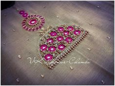 Border Embroidery Designs, Embroidery Suits Design, Bead Embroidery Patterns, Hand Work Embroidery, Beaded Embroidery, Kids Blouse Designs, Bridal Blouse Designs, Hand Work Design, Maggam Work Designs