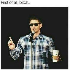 Jensen, spilling the T