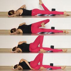 Shoulder Rollove Threaded Needle- Yin Yoga