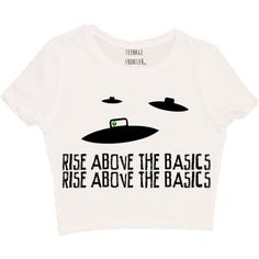 Rise Above the Basics Short-Sleeved Crop Top ($16) ❤ liked on Polyvore featuring tops, t-shirts, shirts, grey, women's clothing, unisex t shirts, grey t shirt, short sleeve t shirts, crop shirts and grey shirt