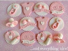 Trendy ideas for cupcakes baby shower topper fondant Fondant Cupcakes, Fondant Baby, Fondant Toppers, Fondant Rose, Giant Cupcakes, Fondant Flowers, Baby Shower Cupcake Toppers, Baby Shower Cupcakes, Shower Cakes