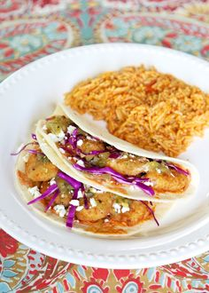 Easy Shrimp Tacos | Plain Chicken