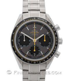 #OMEGA   #Speedmaster Racing #Co-Axial Chronograph 40 mm   Ref. 326.30.40.50.06.001 - http://t1p.de/04jq