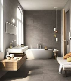 Bathroom Inspiration: The Do's and Don'ts of Modern Bathroom Design 17 - Modern Interior Modern Bathroom Design, Bathroom Interior Design, Modern Interior Design, Bathroom Designs, Design Interiors, Contemporary Interior, Contemporary Bathrooms, Kitchen Design, Luxury Interior