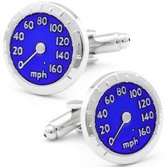 Blue French Speedometer Cufflinks CL-CH-210012 Fine Men's Jewelry. $19.95
