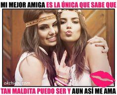 meme ok chicas mujeres amigas signo amor y paz