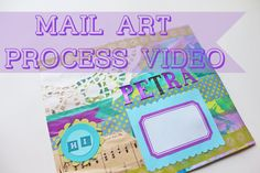 Watch me create a mixed media envelope!