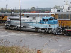 Bush Train 0513 | Union Pacific #4141 EMD SD70ACe locomotive… | Flickr