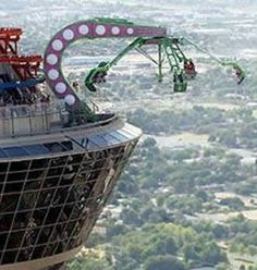 Try the THRILL of The Stratosphere. I say no way for me. For those who have tried your crazy!!!