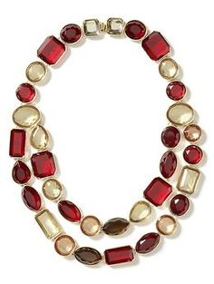 $80 but it would go with so much of my stuff Crimson necklace | Banana Republic