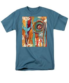 Summer Men's T-Shirt (Regular Fit) featuring the painting Summer Solstice by Mary Mirabal