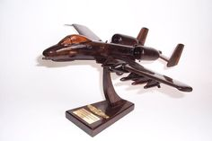 Wooden aircraft model A-10 Thunderbolt II 199.00 €