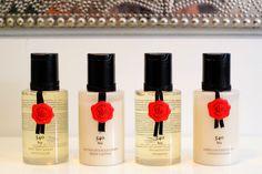 "Hotelkosmetik Hotel Amenities Maison Francis Kurkdjian Baccarat NY ""540 bis"" Conditioner - Shower Gel - Shampoo - Bodylotion"