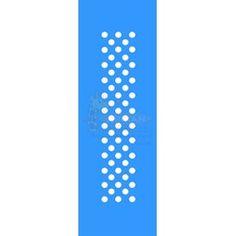 Stencil Círculos Md 10x30 - OPA
