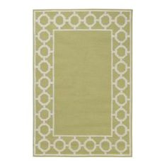 Espana Border Sage 3 ft. 6 in. x 5 ft. 6 in. Area Rug-0943110630 at The Home Depot