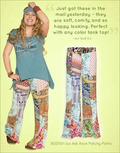 Go Ask Alice Patchy Pants Five Star Review