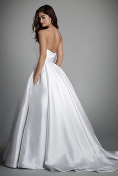 Courtesy of Alvina Valenta Wedding Dresses from JLM Couture; Wedding dress idea.