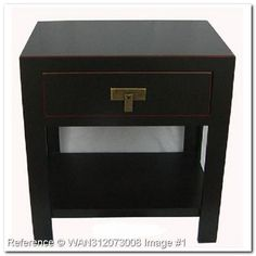 Japanese Style Nightstand with Drawer FT208NQ. Home furnishings: Oriental Style Furniture - muebleiDeal.com