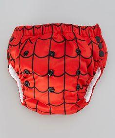Look at this #zulilyfind! Red & Black Microfiber Training Pants #zulilyfinds