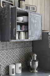 Kitchen with character. Love the tiles.