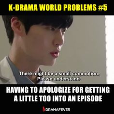20 Terrible problems every K-drama addict faces