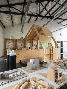 WikiHouse in a Warehouse