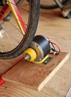 Build your own electrical generator using a repurposed bike. If you live in an area that is prone to power outages from storms, then you could really use a