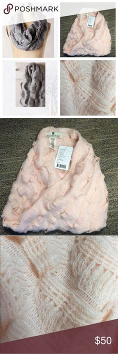Anthropologie Madison 88 Infinity Scarf, Pink Pink Infinity Scarf by Madison 88 for Anthropologie. Soft material. Acrylic/Nylon/Spandex. No trades. 20% off Bundles. Great for gift giving!Price firm unless bundled. Thanks! Anthropologie Accessories Scarves & Wraps