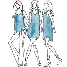 xx eucalypt woven tank top & dress sewing pattern megan nielsen light to middle weight cotton silk crepe de chine charmeuse voile chambray Sewing Hacks, Sewing Tutorials, Sewing Crafts, Sewing Projects, Sewing Ideas, Sewing Tips, Diy Projects, Sewing Clothes, Dress Sewing