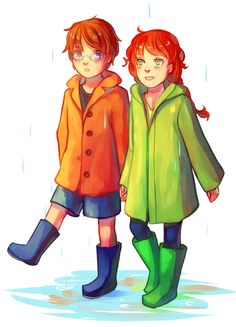 walkingnorth:  De-stressing with little Clary and Simon ✿◕ ‿ ◕✿  There is a ton of terrific TMI fanart at this blog!