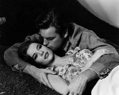 Natalie Wood and Warren Beatty - Splendor in the Grass  (IS THIS ROBERT WAGNER WITH HER) ????