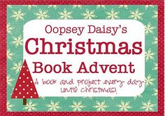 Christmas Book Advent {Books and Activities}