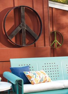 Iconic Peace Signs have never gone out of style...