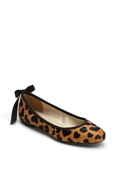 French Sole ballet flats. They're hearts not leopard (I hate leopard print).