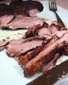 Recipe:  Spice-Seared Boneless Leg of Lamb